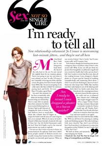April 2012 Cosmo column