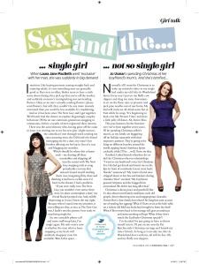 December 2012 Cosmo column