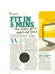 Fit in Five Minutes (Fabulous)