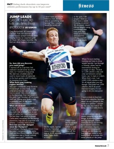 Greg Rutherford interview (MF mag)