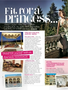 Holiday like a princess (Fabulous)