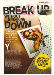 How to break up without breaking down (Cosmo)