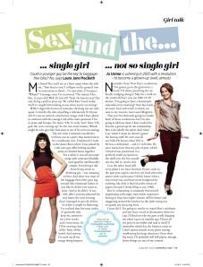 January 2013 Cosmo column