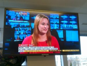 Jo Usmar on Sky News