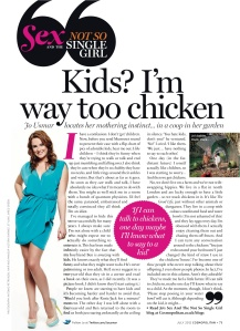 July 2012 Cosmo column