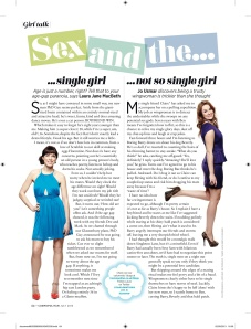 July 2013 Cosmo column