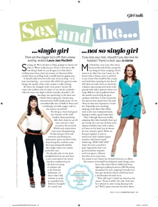 March 2013 Cosmo column