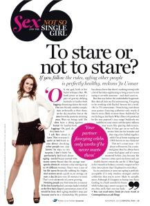 November 2012 Cosmo column