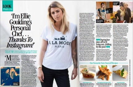 Ellie Goulding chef