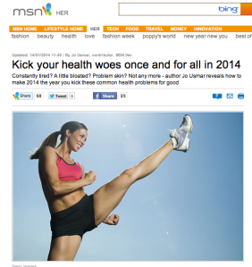 MSN health woes feature