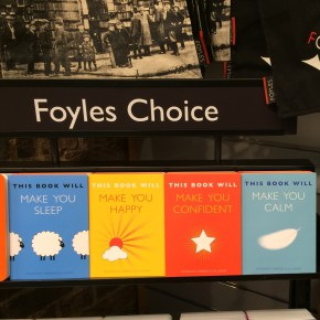 This Book Will series at Foyles St Pancras