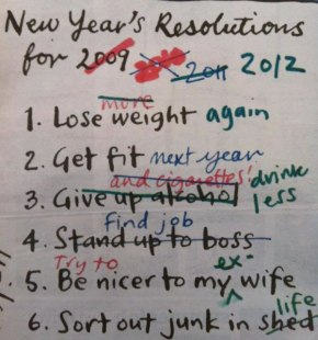 The only New Year's resolutions you should be making this January